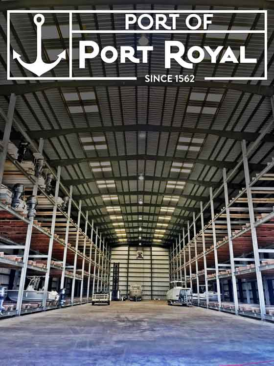 Port of Port Royal Dry Stack Boat Storage Facility
