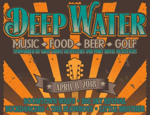 Coming April 8th, 2018 Deep Water Music Festival