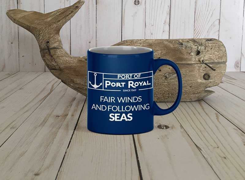 Port of Port Royal, SC Coffee Cup